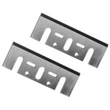Pair Of 82MM HSS PLANER BLADES for SKIL, HITACHI & RYOBI, MAKITA, BLACK & DECKER, WOLF, KANGO -High Speed Steel