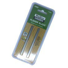2 x 82mm HSS PLANER BLADES for Black & Decker, Bosch, DeWalt, Elu planers (blister pack of 2)