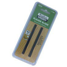 2 x 82mm TCT PLANER BLADES for Black & Decker, Bosch, DeWalt, Elu planers (blister pack of 2)