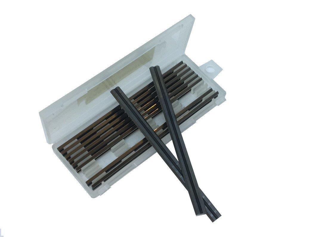 10 x 80.5MM HSS PLANER BLADES for TRITON, SKIL, HITACHI & RYOBI,