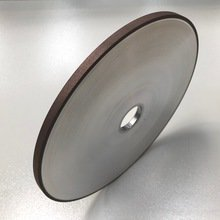 DIAMOND Grinding Wheel For STRAIGHT KNIFE Grinding Of TCT PLANER HEADS - 8mm wide wheel gives excellent concentricity without need for Dressing between grinds