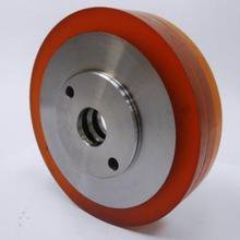 140 Dia x 10mm Wide Polyurethane Feed Roller For Wadkin & Weinig Moulder (25mm Bore + Peg)
