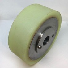140 Dia x 50mm Wide Polyurethane Feed Roller For Wadkin & Weinig Moulders(25mm Bore + Peg)