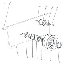 Wadkin WT Double End Tenoner Spares