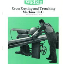 Wadkin Crosscut Spare Parts