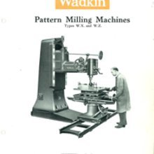 Wadkin Pattern Miller Spare Parts
