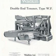 Wadkin Double End Tenoner Spare Parts